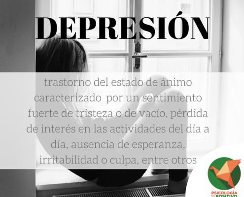 Depresión y psicología positiva