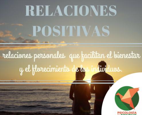 relaciones positivas