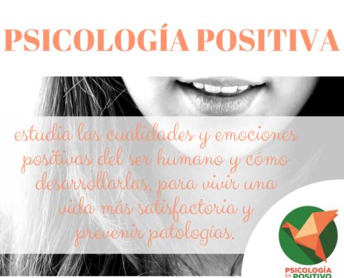 definición de psicología positiva