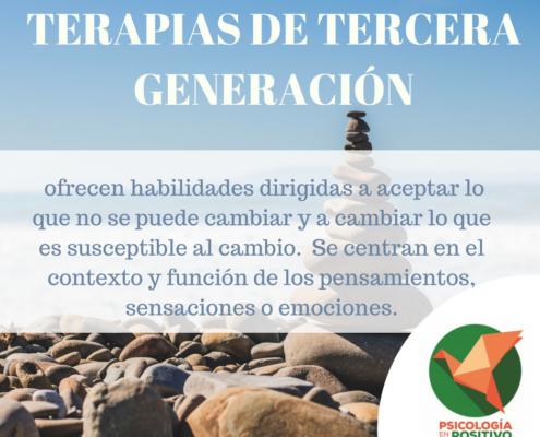 terapias de tercera generacion