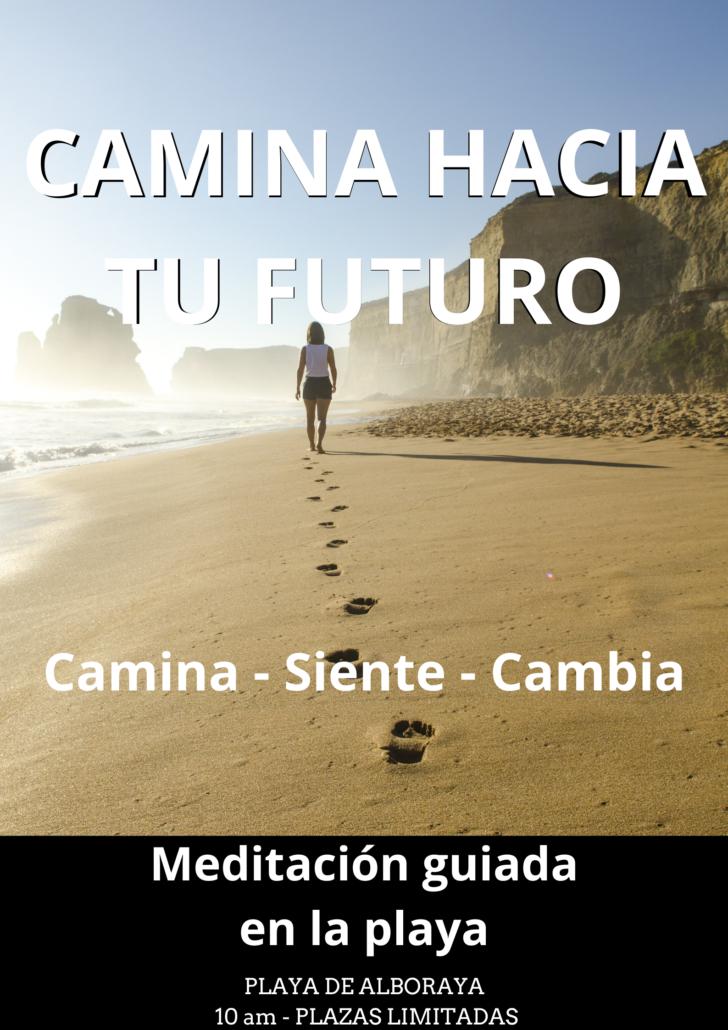 Meditación guiada playa